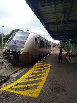 Présence d'un train