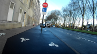 Sur les boulevards, on peut faire le trottoir…
