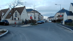 Intersection avec la rue Viala
