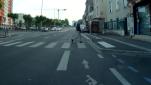 Ici, le point noir sous la forme de l'arrêt de bus.