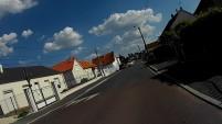 La chaussée de l'ancienne route de Chartres