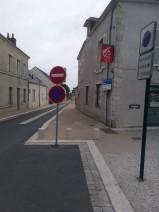 fin de la rue - recto